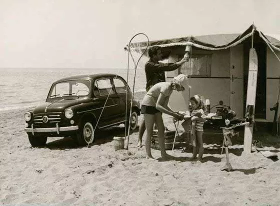 Old photo of Camping Bosco Verde